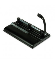 Master 325B 24-Sheet Lever Adjustable 2- to 7-Hole Punch