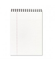 "Cambridge 8-7/8"" X 11"" 80-Sheet Legal Rule Notepad, Black Cover"