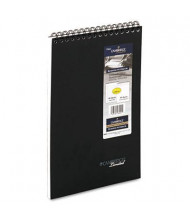 "Cambridge 8-7/8"" X 11"" 96-Sheet Business Notepad, Black Cover"