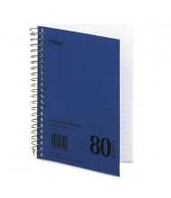 "Mead 5"" X 7"" 80-Sheet College Rule Notebook, Blue Cover"