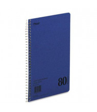 "Mead 6"" X 9-1/2"" 80-Sheet College Rule Notebook, Blue Cover"
