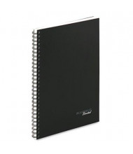 "Cambridge 7-1/4"" X 9-1/2"" 80-Sheet Legal Rule Meeting Notebook, Black Cover"