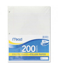 "Mead 8-1/2"" x 11"", 200-Sheets, College Rule Economical Filler Paper"