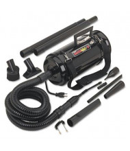 Metro DataVac 1-Speed Toner Vacuum & Blower with Storage Case and Dust Off Tools