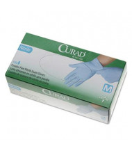 Curad Medium Powder-Free Nitrile Exam Glove, Blue, 150/Box