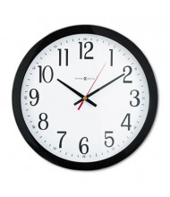 "Howard Miller 16"" Gallery Wall Clock, Black"