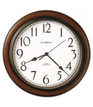 "Howard Miller 15.3"" Talon Wall Clock, Cherry"