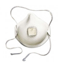 Moldex 2700 N95 Series HandyStrap Half-Face Mask Respirator, Medium/Large, 10/Box
