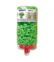 Moldex Pura-Fit PlugStation Cordless Earplug Dispenser, 33NRR, Bright Green, 500 Pairs