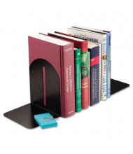"SteelMaster 7"" H Fashion Bookends, Black"