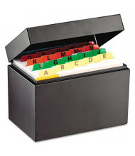 "SteelMaster Index Card File Holds 500 4"" x 6"" Cards"