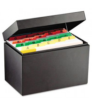 """SteelMaster Index Card File Holds 625 5"""" x 8"""" Cards"""