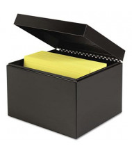 """SteelMaster Index Card File Holds 900 6"""" x 9"""" Cards"""