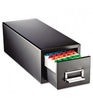 """SteelMaster 18"""" Drawer Card Cabinet Holds 1500 5"""" x 8"""" Cards"""