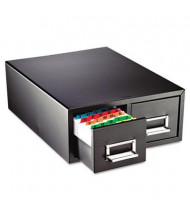 """SteelMaster 16"""" Drawer Card Cabinet Holds 3000 6"""" x 9"""" Cards"""
