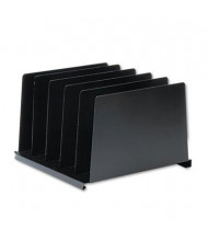 SteelMaster 5-Section Vertical Organizer, Black