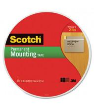 "Scotch 3/4"" x 114 ft. Permanent Foam Mounting Tape"