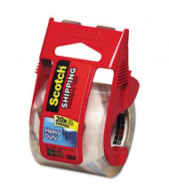 """Scotch Heavy-Duty Packaging Tape with Dispenser, Clear, 1-1/2"""" Core"""