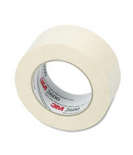 "Highland 2"" x 60 yds Economy Masking Tape, 3"" Core, Cream"