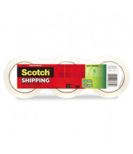 "Scotch 1.88"" x 54.6 yds Sure Start Packaging Tape, 3"" Core, 3-Pack"