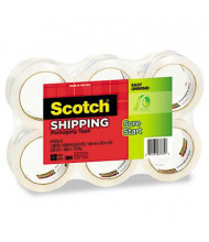 """Scotch 1.88"""" x 54.6 yds Sure Start Packaging Tape, 3"""" Core, 6-Pack"""