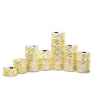 "Scotch 1.88"" x 54.6 yds Clear Commercial Grade Packaging Tape, 3"" Core, 48/Carton"