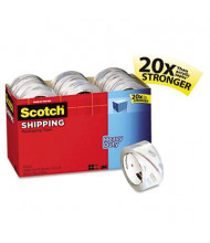 "Scotch 1.88"" x 54.6 yds Clear Heavy-Duty Packaging Tape, 3"" Core, 18-Pack"