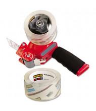 "Scotch Packaging Tape Gun Dispenser, Red, 2-Pack, 3"" Core"