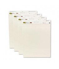 "Post-it Self-Stick 25"" x 30"", 30-Sheet, 4-Pack, Unruled Easel Pads"