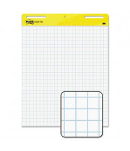 "Post-it Self-Stick, 25"" x 30"", 30-Sheet, 2-Pack, Quadrille Ruled Easel Pads"