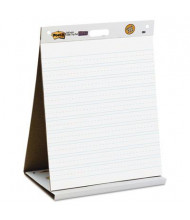 "Post-it Self-Stick 20"" X 23"", 20-Sheet, Ruled Tabletop Easel Pad"