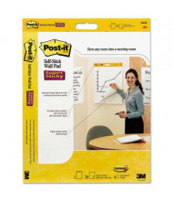 "Post-It Self-Stick 20"" X 23"", 20-Sheet, 2-Pack, Unruled Wall Pads"