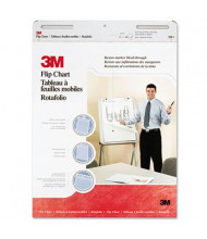 "3M Professional 25"" x 30"", 40-Sheet, 2-Pack, Unruled Flip Charts"