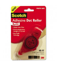 "Scotch 3/10"" x 588"" Refillable Adhesive Dot Roller"