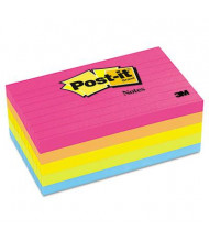 "Post-It 3"" X 5"", 5 100-Sheet Pads, Lined Cape Town Color Notes"