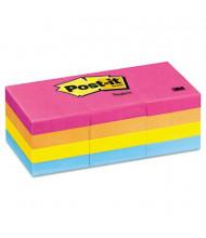 "Post-It 1-1/2"" X 2"", 12 100-Sheet Pads, Cape Town Color Notes"