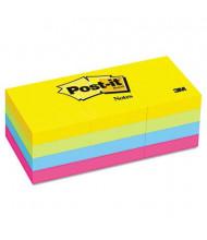 "Post-It 1-1/2"" X 2"", 12 100-Sheet Pads, Jaipur Color Notes"