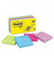 "Post-It 3"" X 3"", 14 100-Sheet Pads, Jaipur Color Notes"