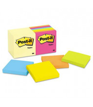 "Post-It 3"" X 3"", 14 100-Sheet Pads, Canary Yellow & Cape Town Notes"