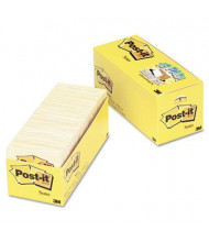 "Post-It 3"" X 3"", 18 90-Sheet Pads, Canary Yellow Notes"