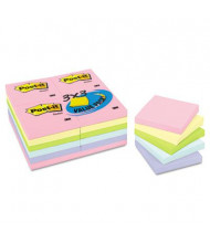 "Post-It 3"" X 3"", 24 100-Sheet Pads, Marseille Color Notes"