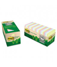 "Post-It 3"" X 3"", 24 75-Sheet Pads, Helsinki Greener Notes"