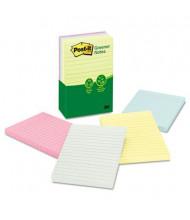 "Post-It 4"" X 6"", 5 100-Sheet Pads, Helsinki Greener Notes"