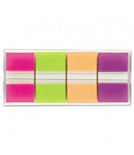 """Post-It 1"""" x 1-3/4"""" Portable Page Flags, Bright Assorted, 160 Flags/Pack"""