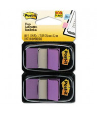 """Post-It 1"""" x 1-3/4"""" Marking Flags, Purple, 100 Flags/Pack"""
