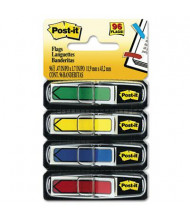 "Post-It 1/2"" x 1-3/4"" Arrow Page Flags, Assorted, 96 Flags/Pack"