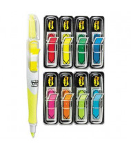 """Post-It 1/2"""" x 1-3/4"""" Arrow Page Flags & 50-Flag Highlighter, Assorted, 280 Flags/Pack"""