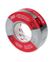 "3M 1.88"" x 60 yds Poly-Coated Cloth HVAC Duct Tape, 3"" Core, Silver"