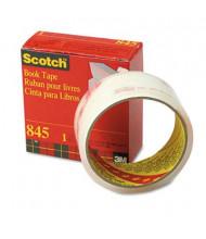 """Scotch 1-1/2"""" x 15 yds Clear Book Repair Tape, 3"""" Core"""