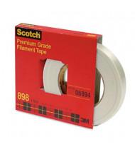 """Scotch .70"""" x 60 yds Clear Filament Tape, 3"""" Core"""
